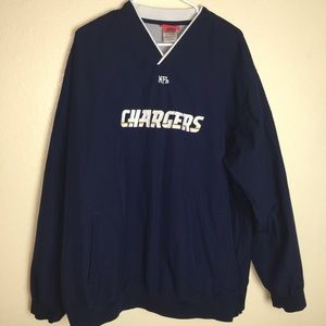 NFL CHARGERS PULLOVER JACKET
